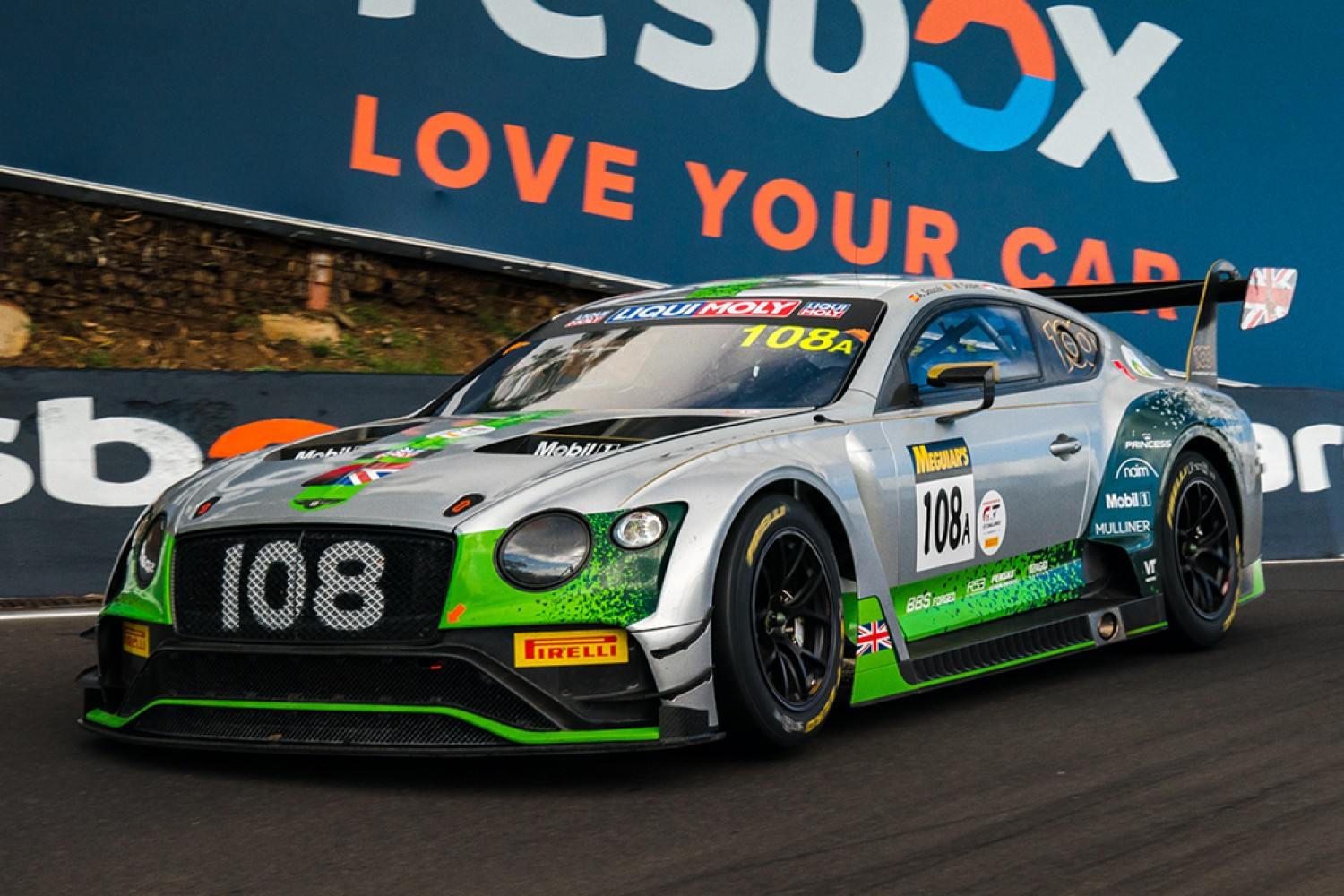 Palttala and Ordonez join Bentley's California 8 Hours line-up