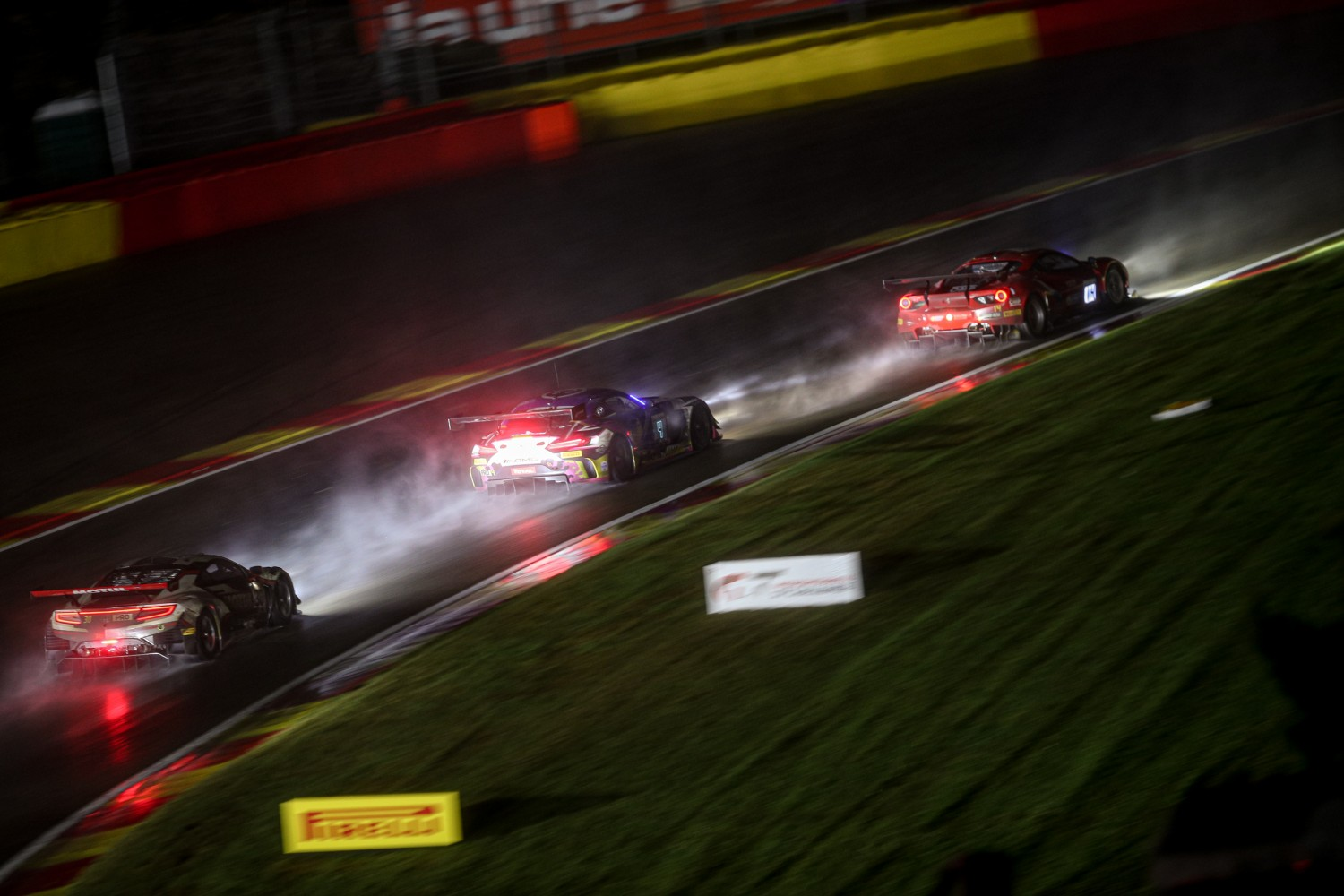 Heavy rain stops play at Spa; no restart until at least 11:30