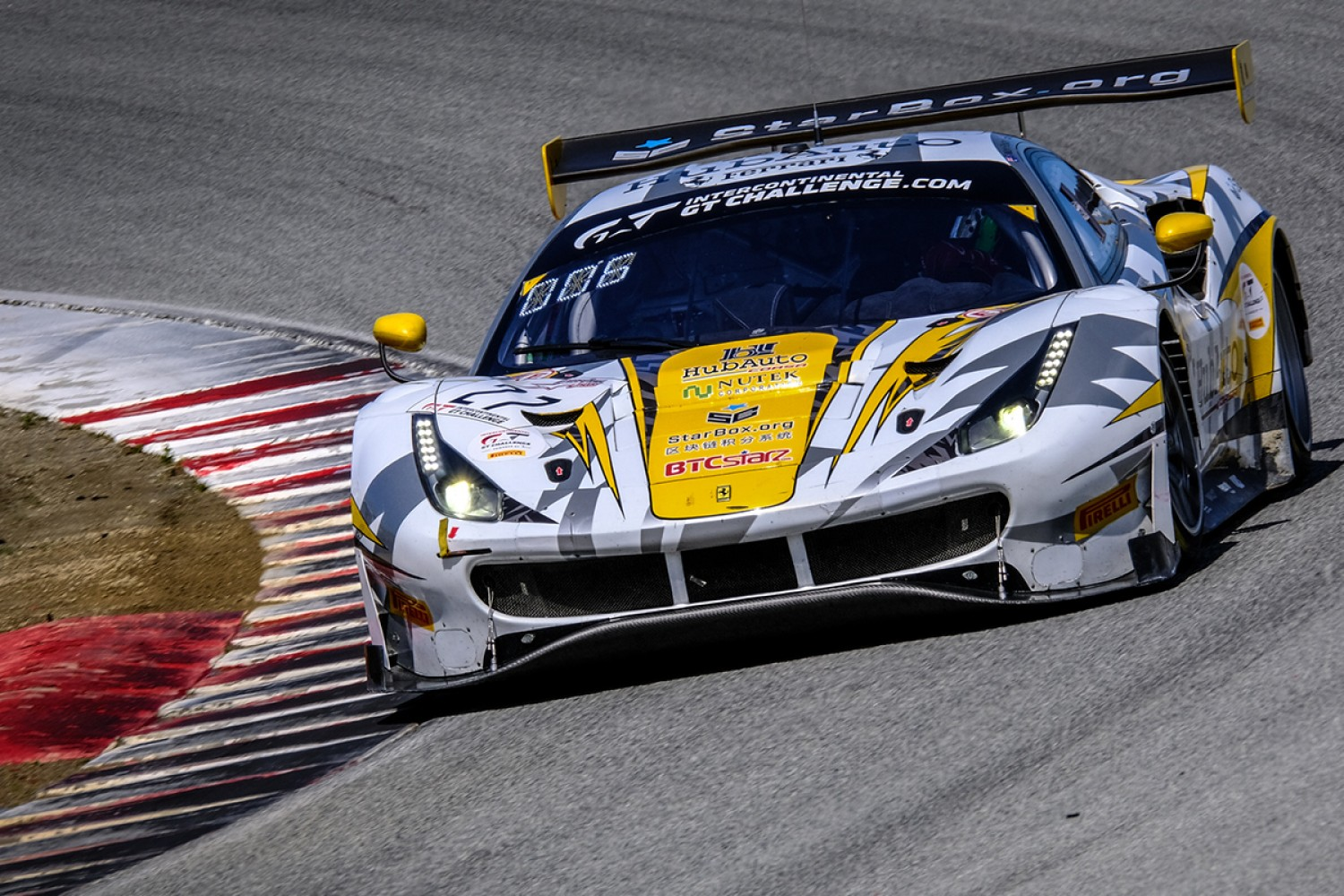 Cassidy and Serra join Foster for HubAuto's Total 24 Hours of Spa assault