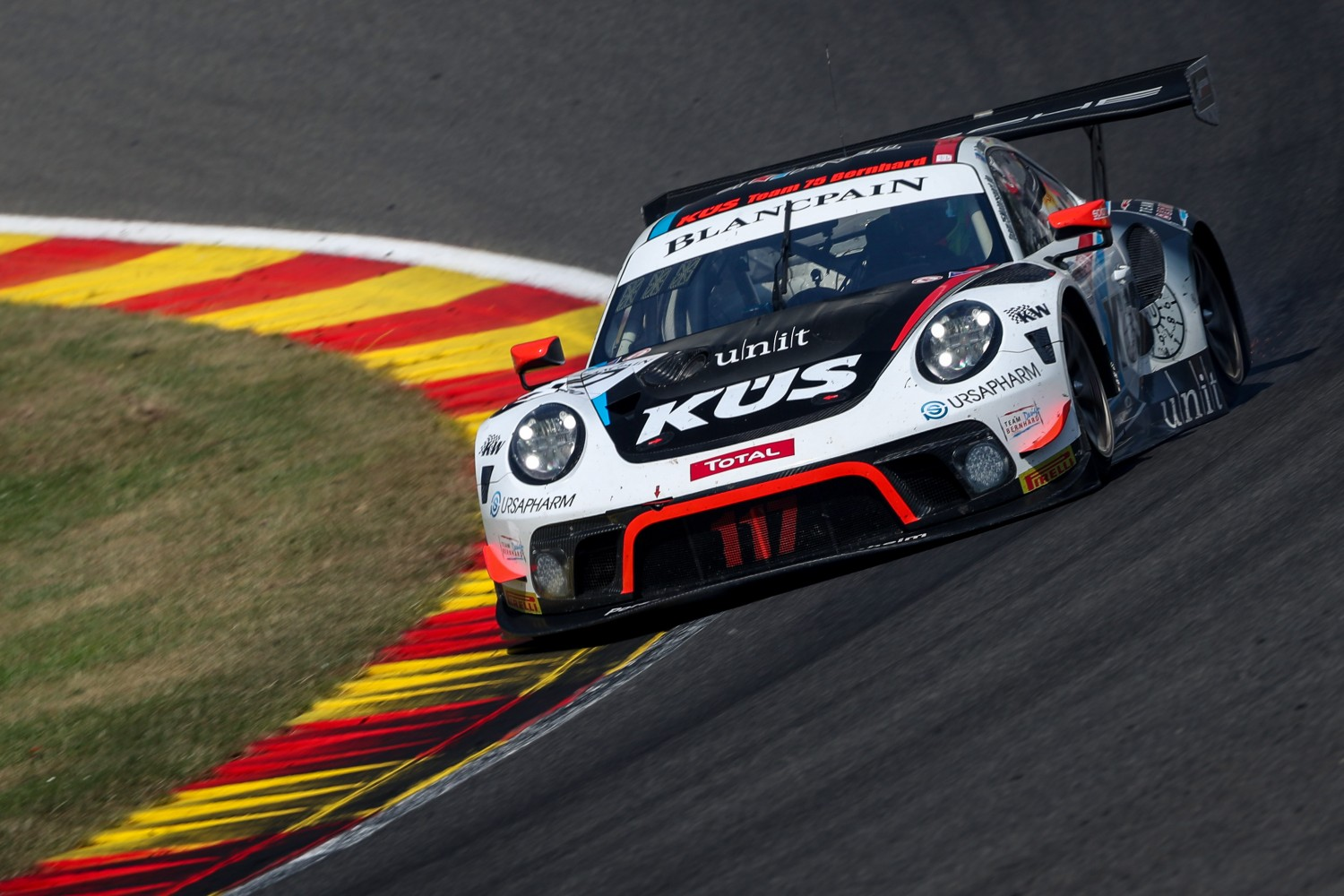 Porsche splits title contenders Olsen, Werner and Campbell for Kyalami finale