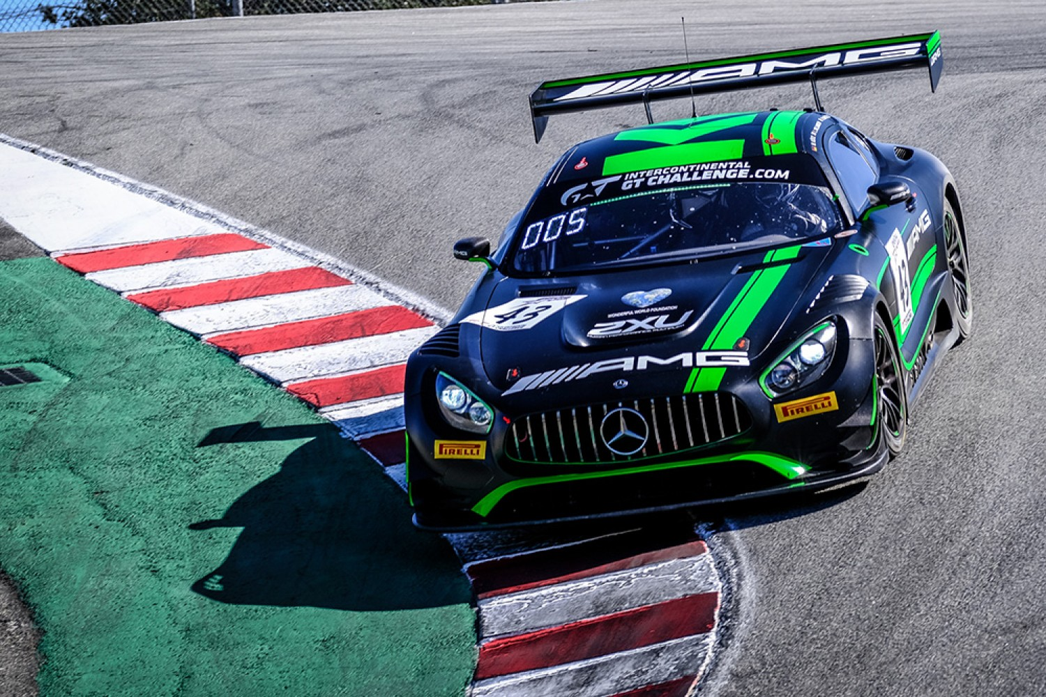 Strakka Racing returns for remaining #IntGTC rounds with two Mercedes-AMG