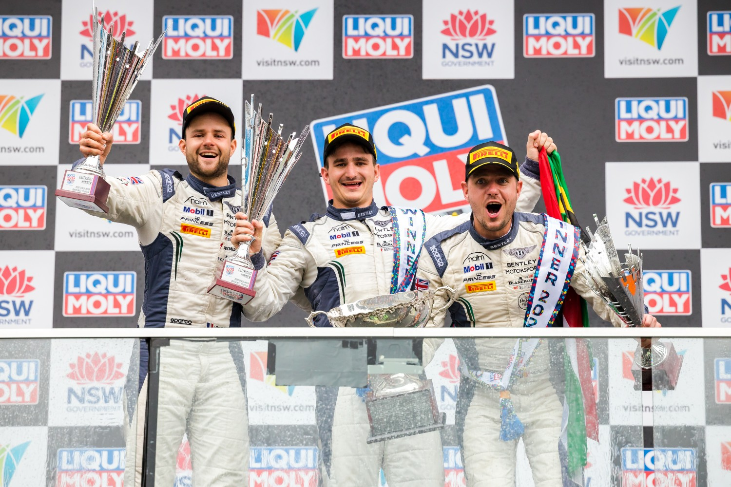 Bentley's Gounon, Pepper and Soulet win at Bathurst