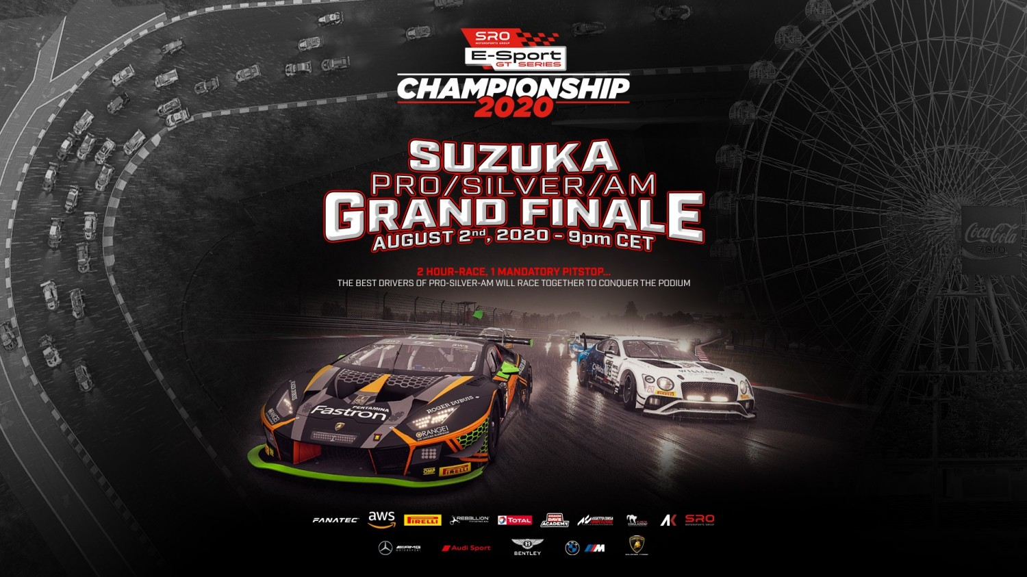 SRO E-Sport GT Series set for winner-takes-all finale at Suzuka