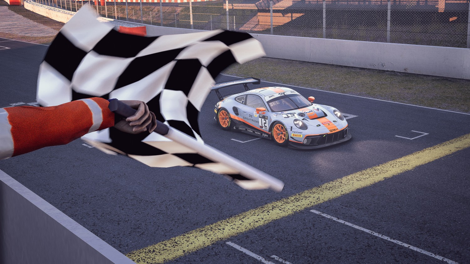 Deletraz captures Pro win for Porsche, Kammerer leads McLaren Silver sweep as SRO E-Sport GT Series tackles Barcelona