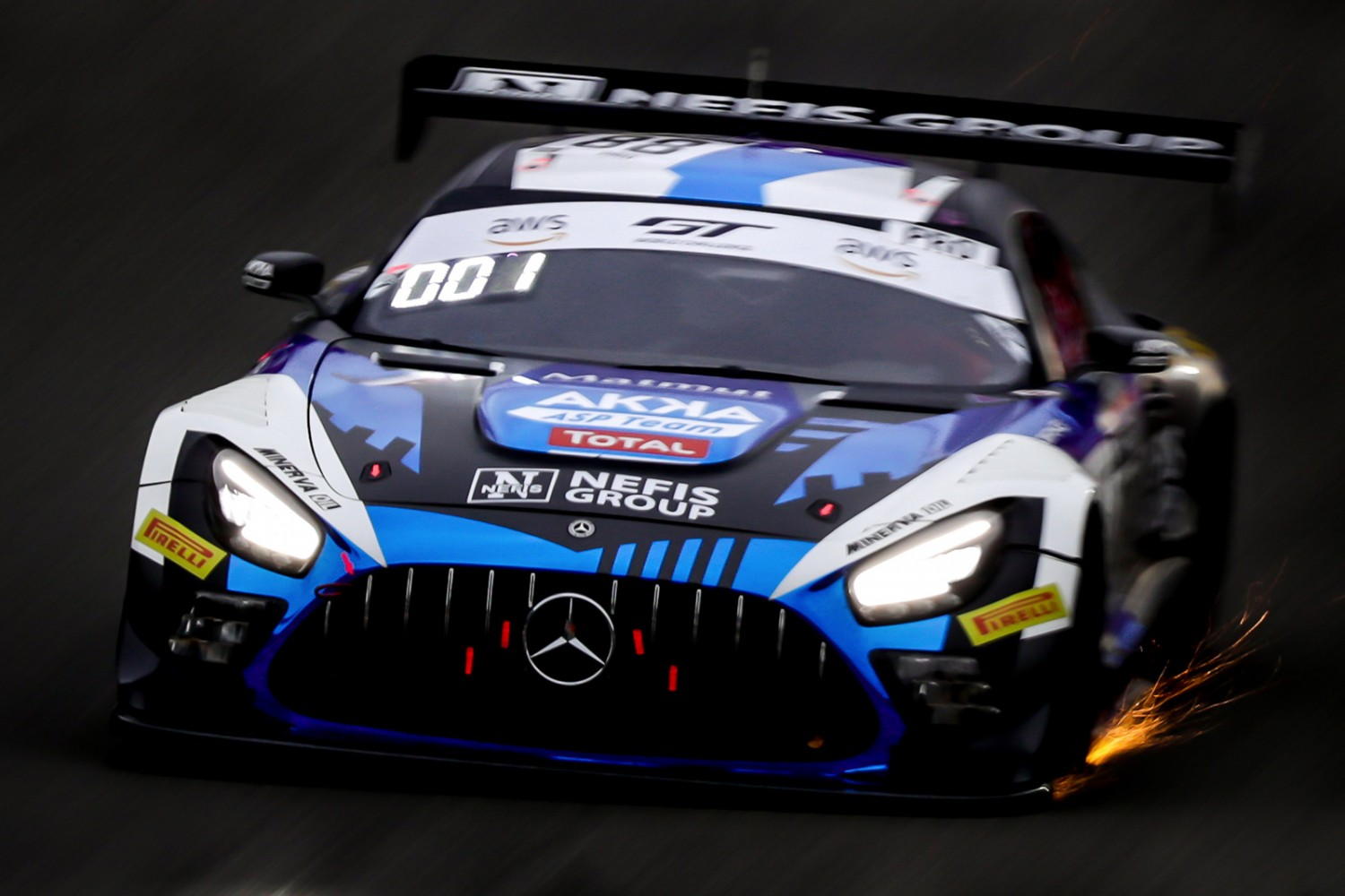 8-Hour Update: Mercedes-AMG Team AKKA ASP leads into Sunday at Total 24 Hours of Spa