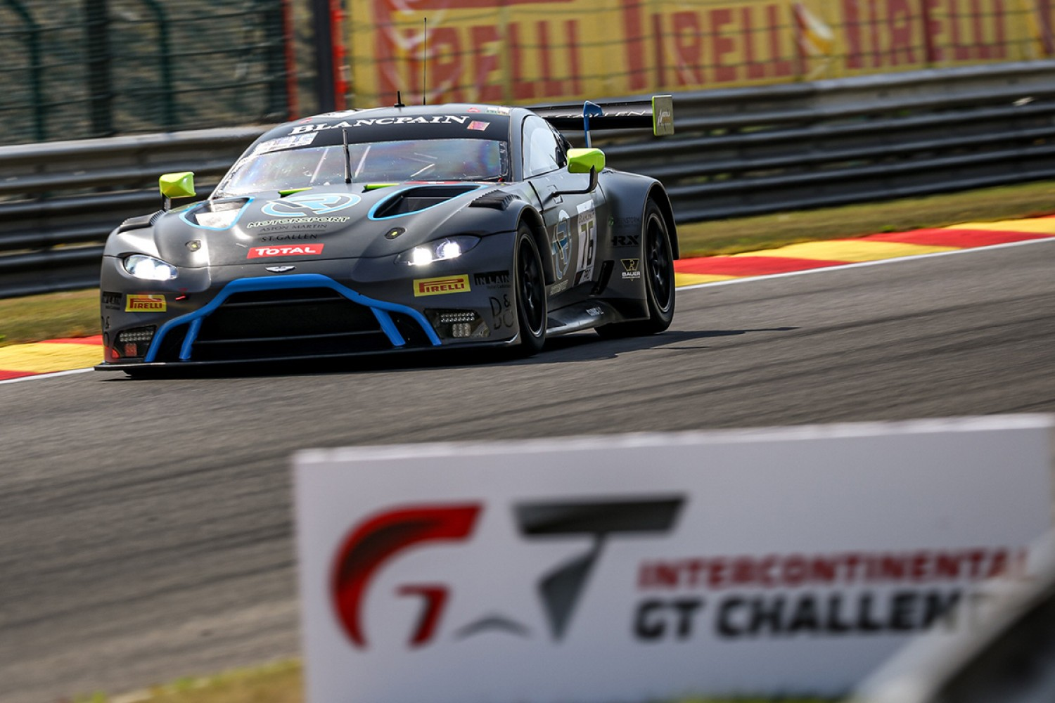 Aston Martin become eighth full-season Intercontinental GT Challenge manufacturer