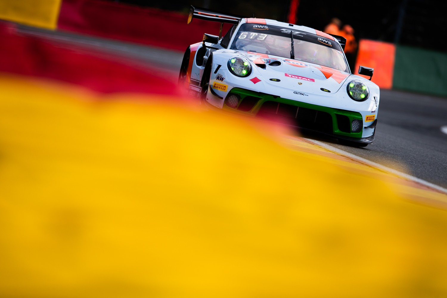 GPX Racing Porsche fastest overall as chequered flag falls on Total 24 Hours of Spa test days