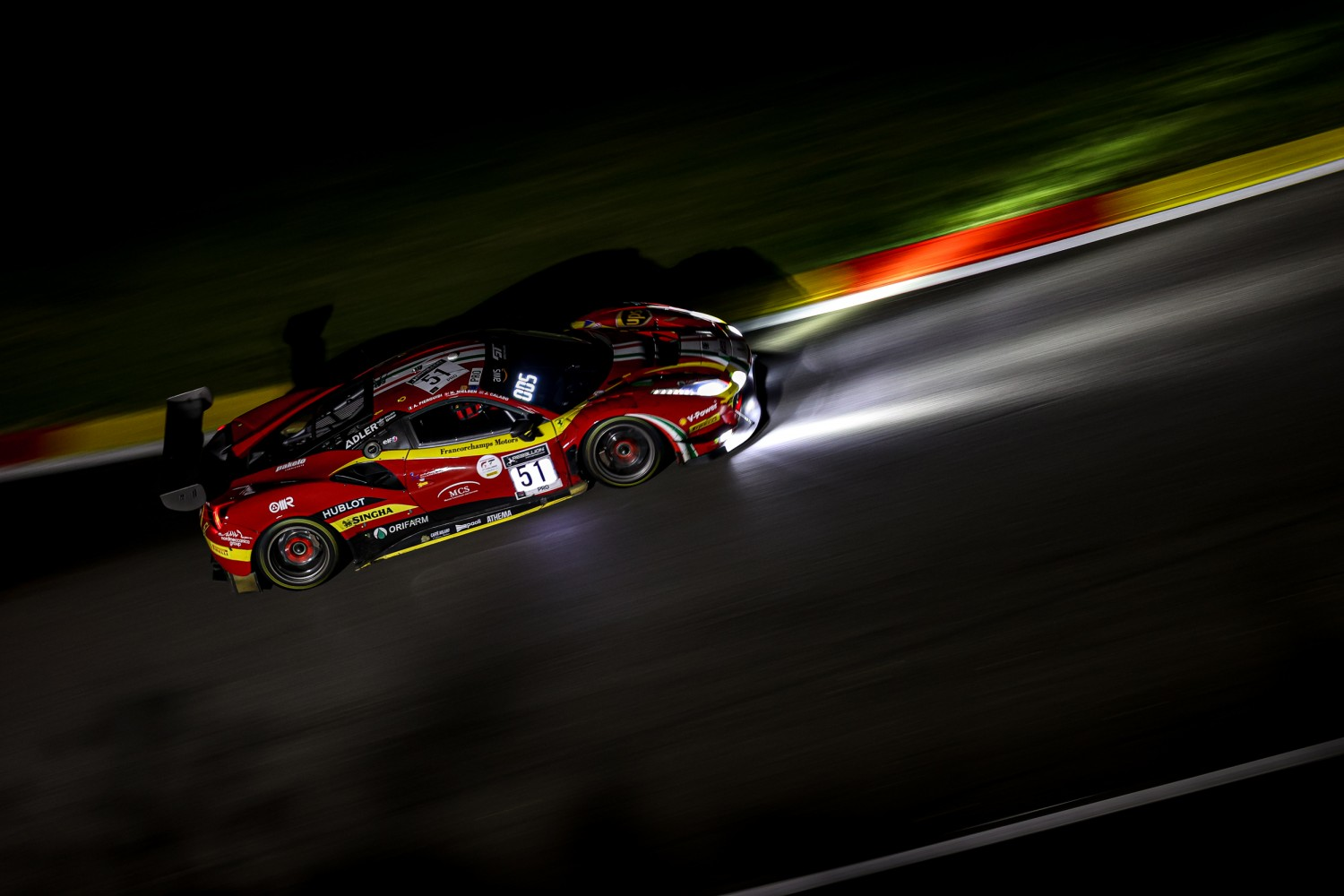 12-Hour Update: AF Corse Ferrari leads at the halfway point
