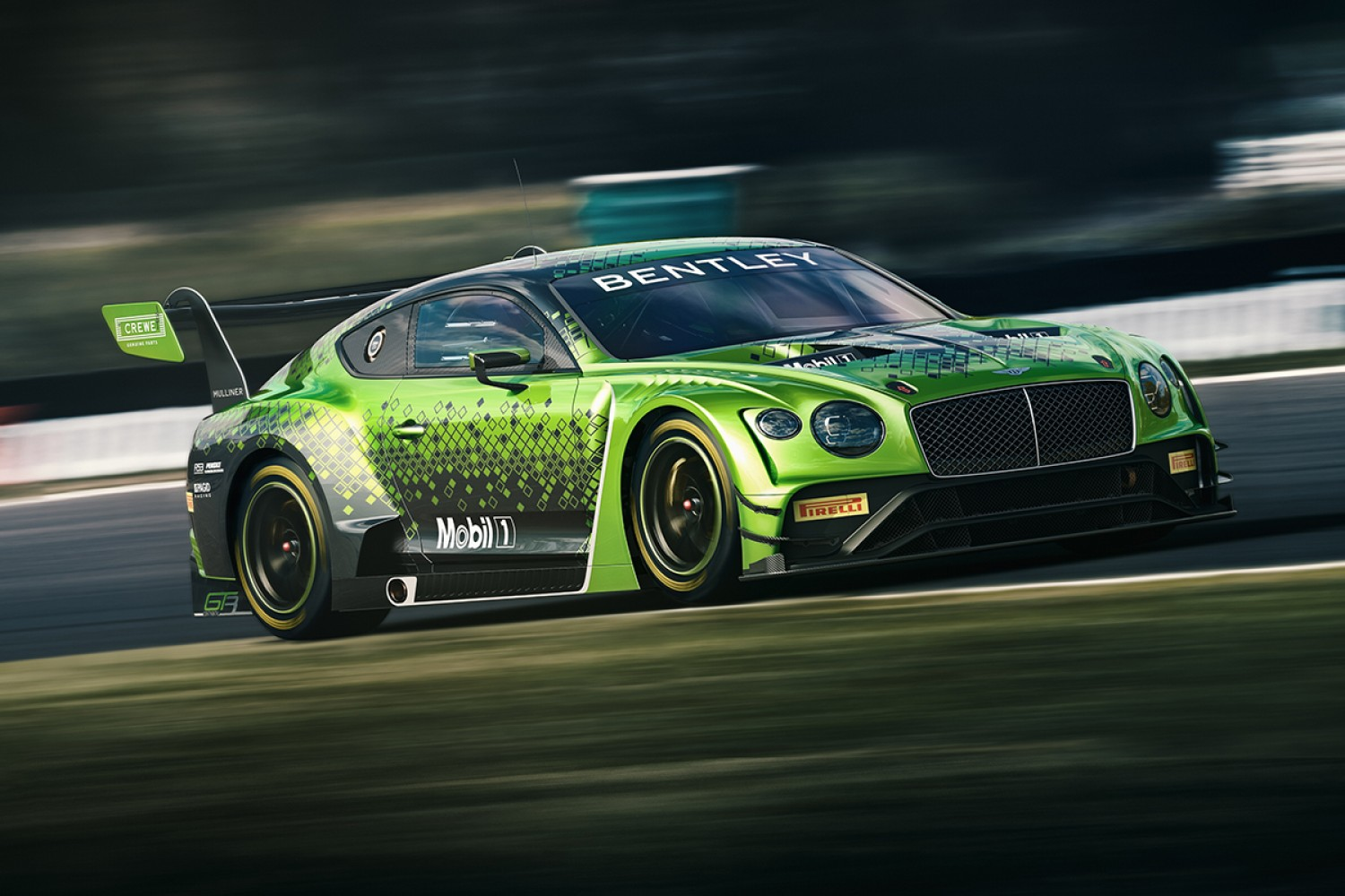 Bentley Team M-Sport return for fifth consecutive Intercontinental GT Challenge Powered by Pirelli campaign