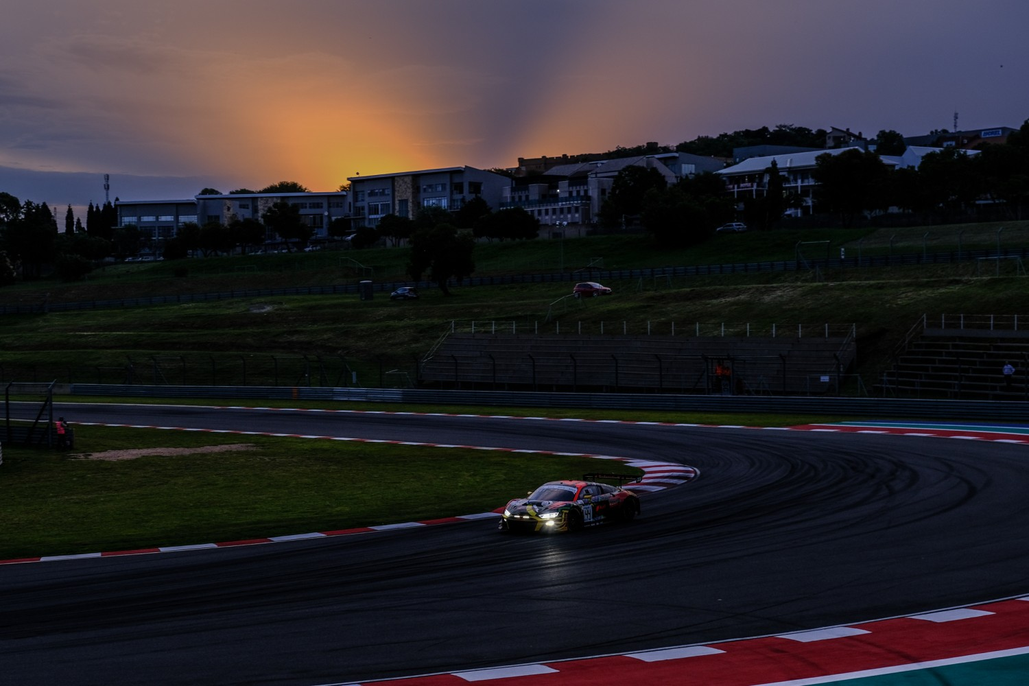 Audi and Haase hits the front in Kyalami Night Practice