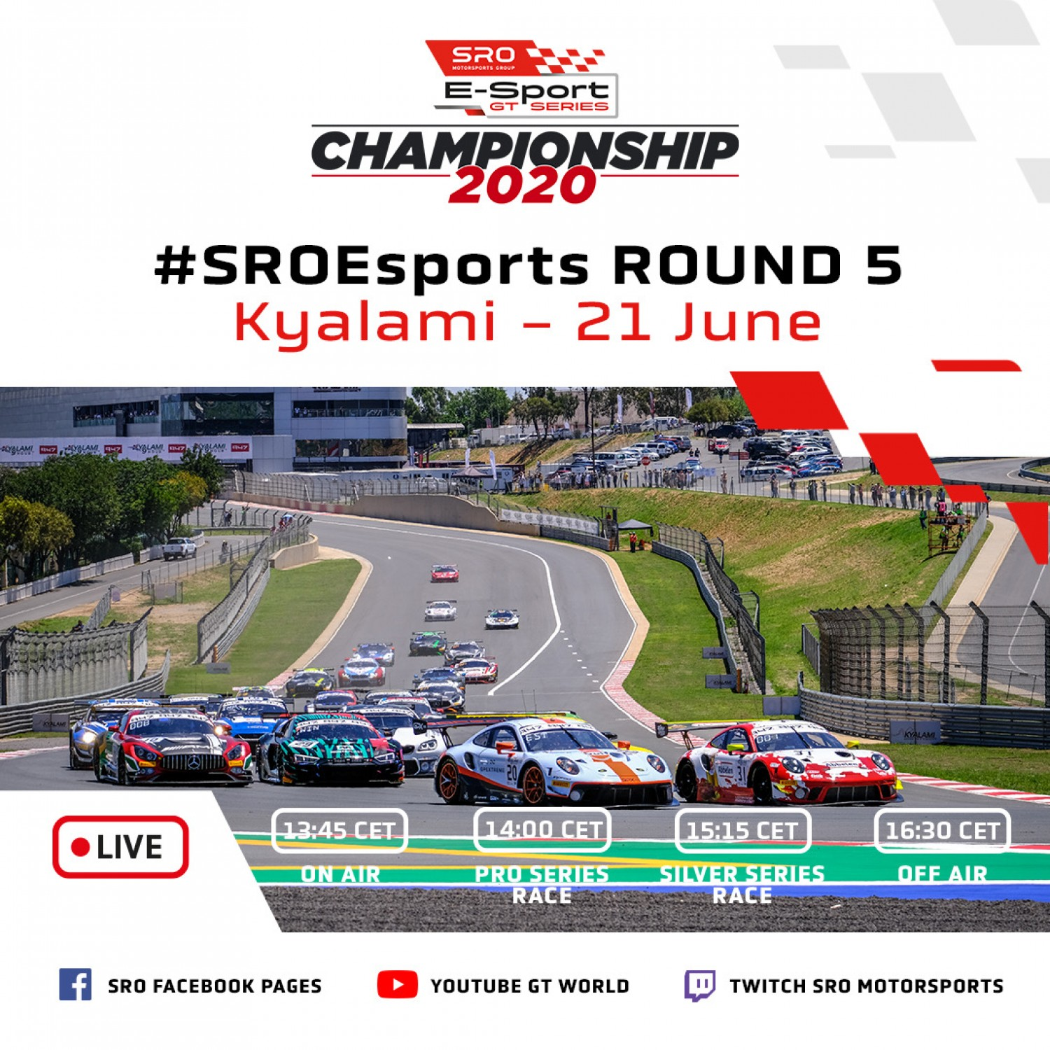 Action-packed weekend in store as SRO E-Sport GT Series prepares for title showdown
