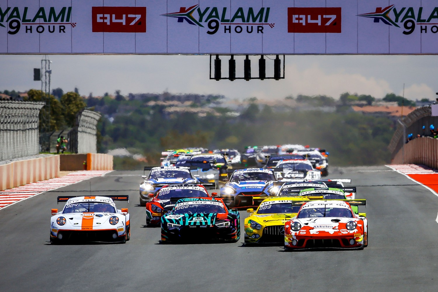Kyalami 9 Hour plays host to Intercontinental GT Challenge Powered by Pirelli title decider