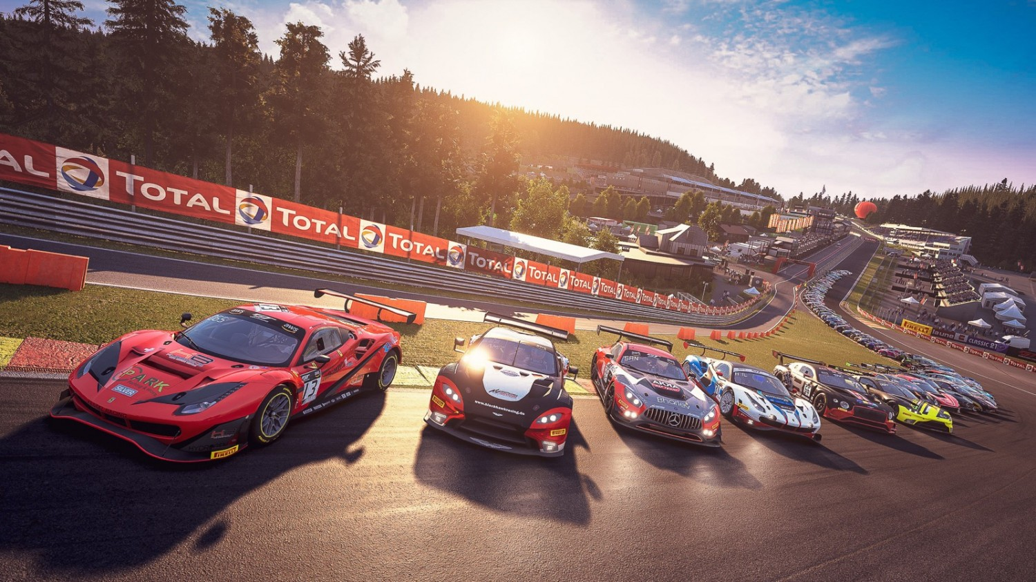 SRO E-Sport GT Series set for all-action contest at Spa-Francorchamps