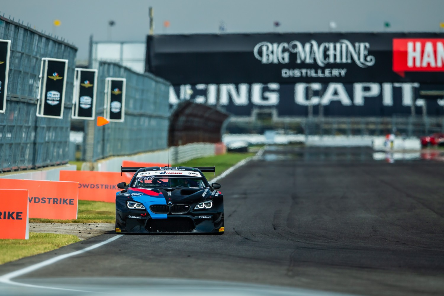 Walkenhorst BMW leads the charge to #Indy8H Pole Shootout