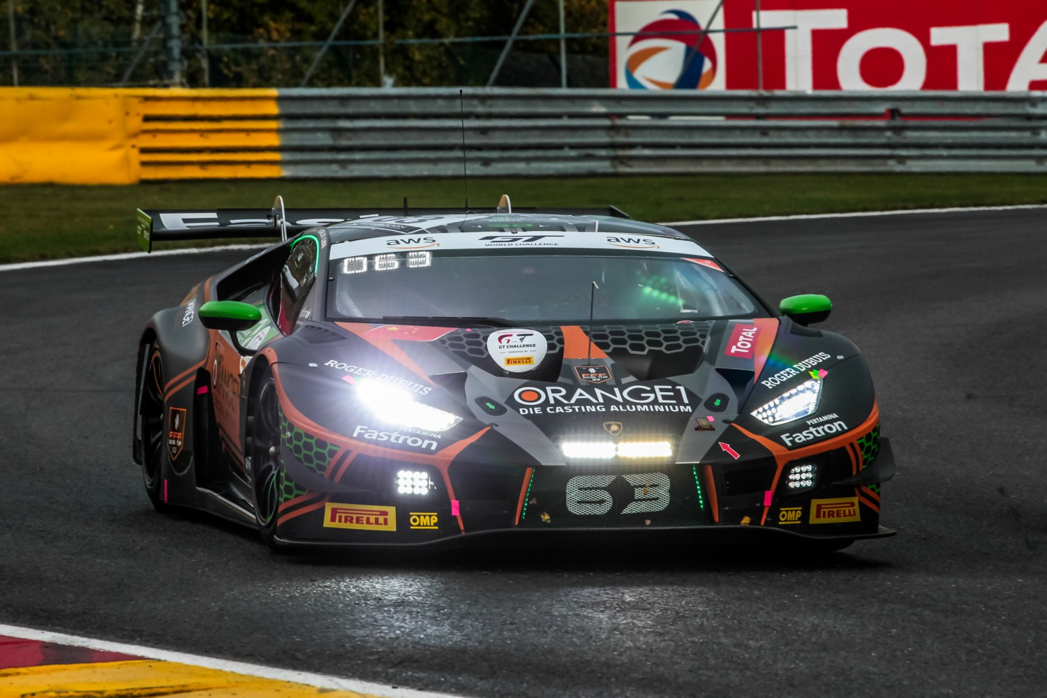 FFF Racing's Caldarelli fastest in first practice at Spa
