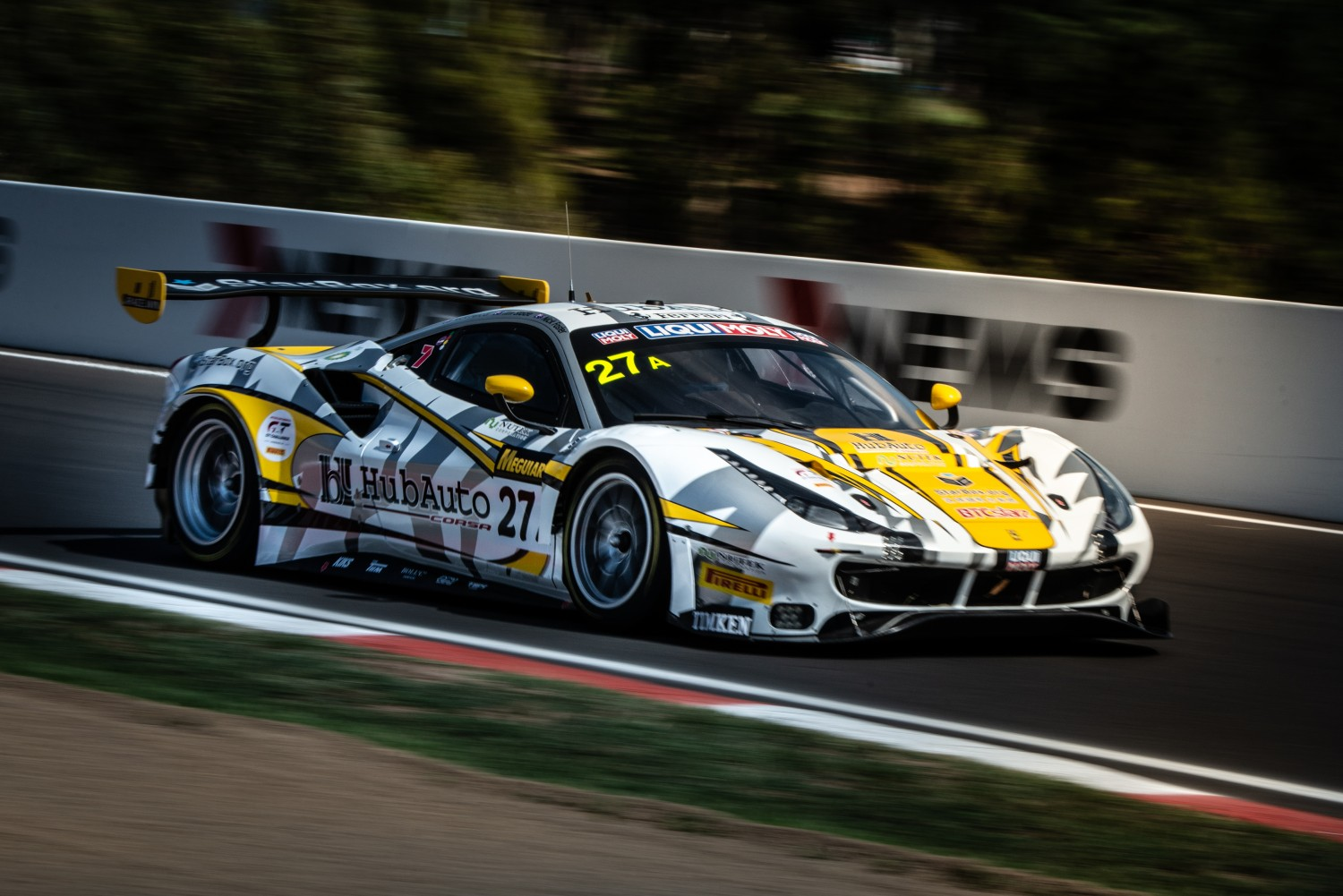 Record nine full-season manufacturers now confirmed as Ferrari commits to Intercontinental GT Challenge