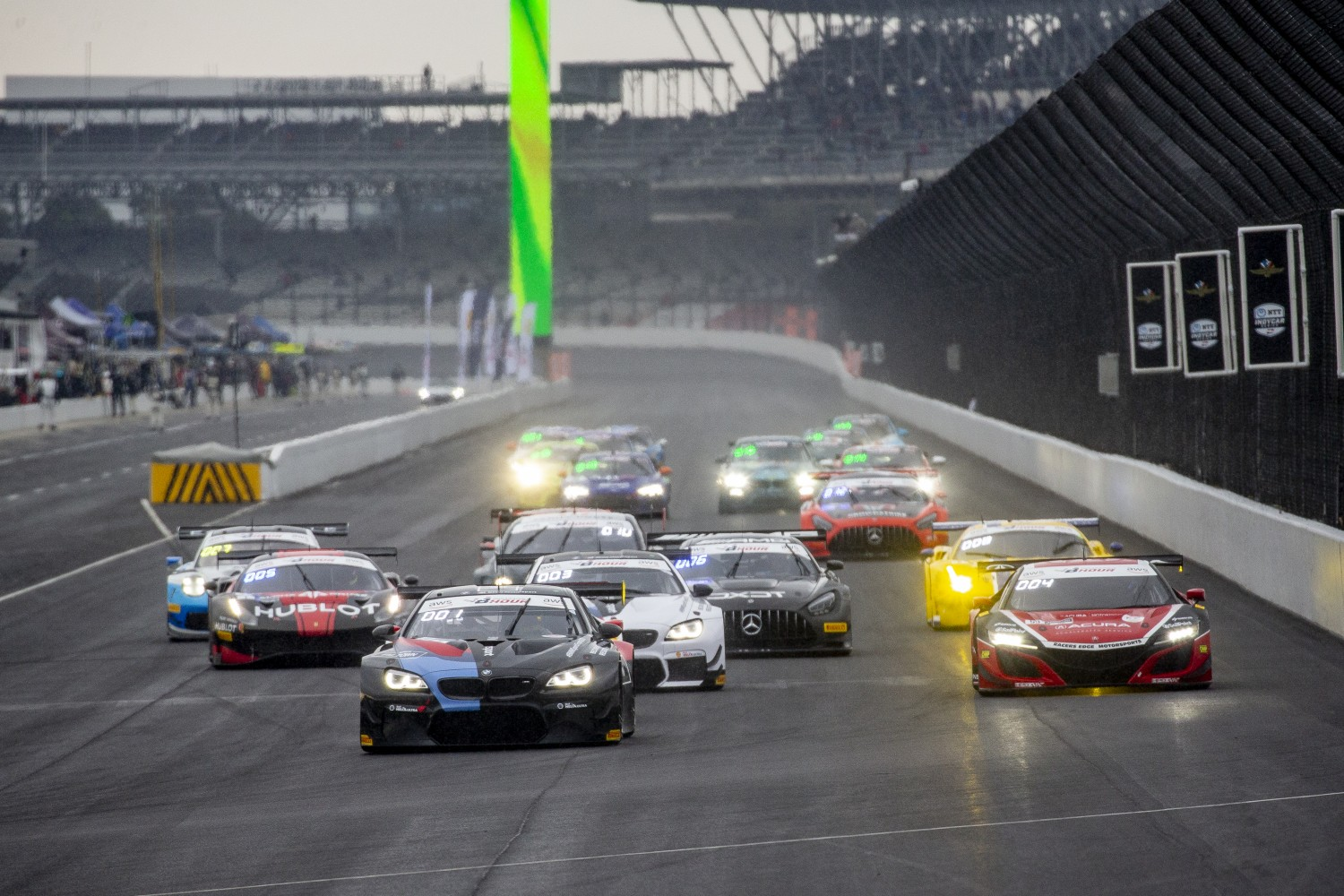 Record 41 cars primed for Indianapolis 8 Hour Presented by AWS