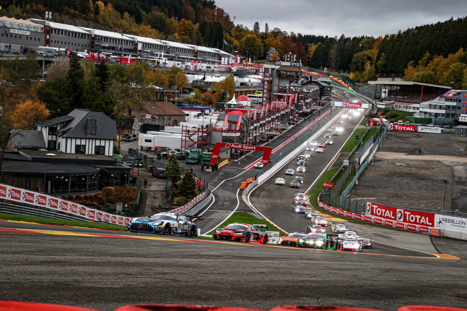 2021 Intercontinental GT Challenge Powered by Pirelli season to comprise three rounds