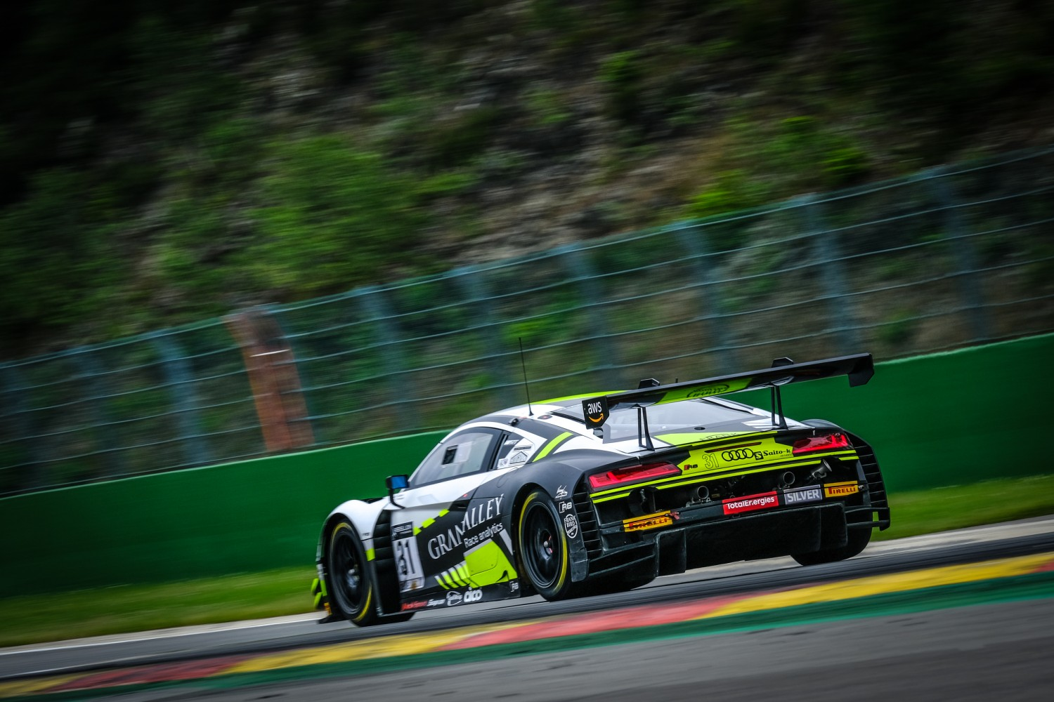 #31 Team WRT BEL Audi R8 LMS GT3 Silver Cup, TotalEnergies 24hours of Spa