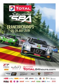 Total 24 Hours of Spa Poster