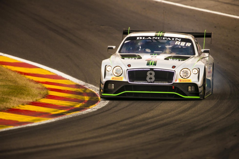 Four Pro Bentley Continental to contest 2019 Total 24 Hours of Spa
