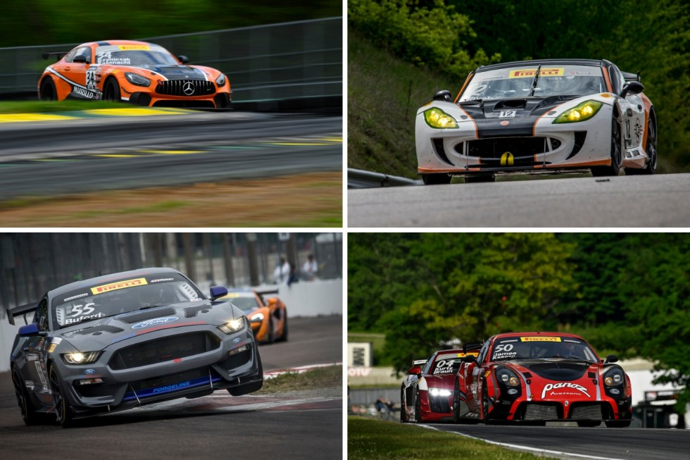 The California 8 Hours features top GT4 competitors