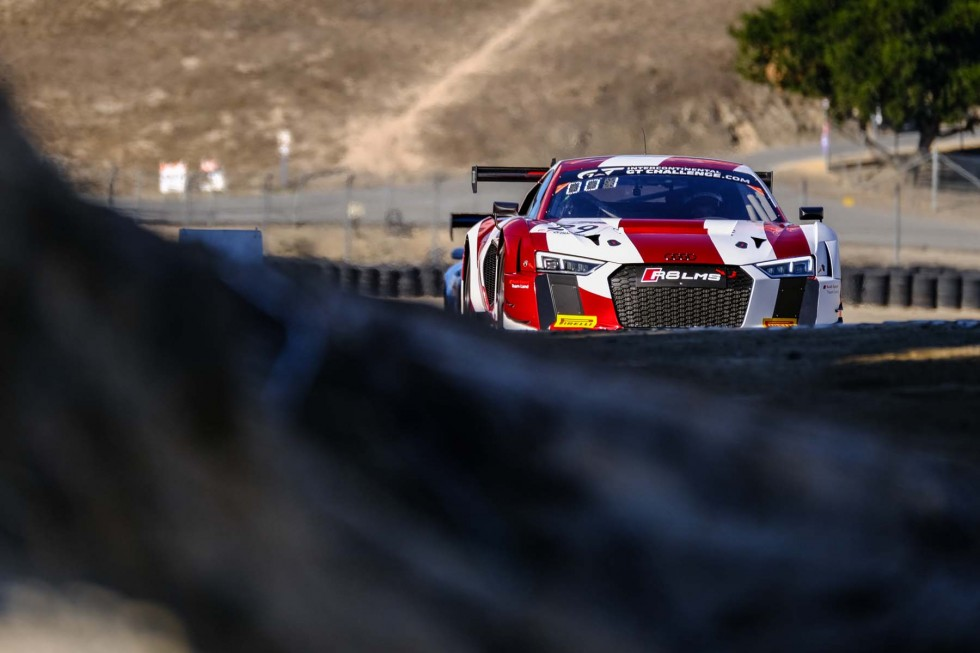 Audi takes pole position for the California 8 Hours