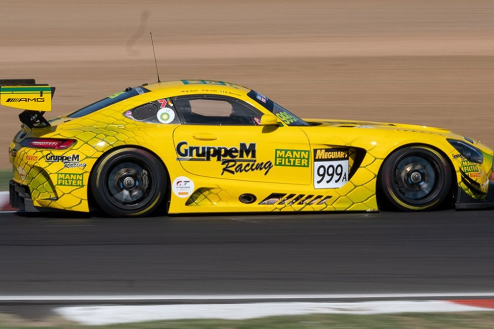 Bathurst FP1 & FP2: Mercedes-AMG's Marciello tops red-flag interrupted sessions