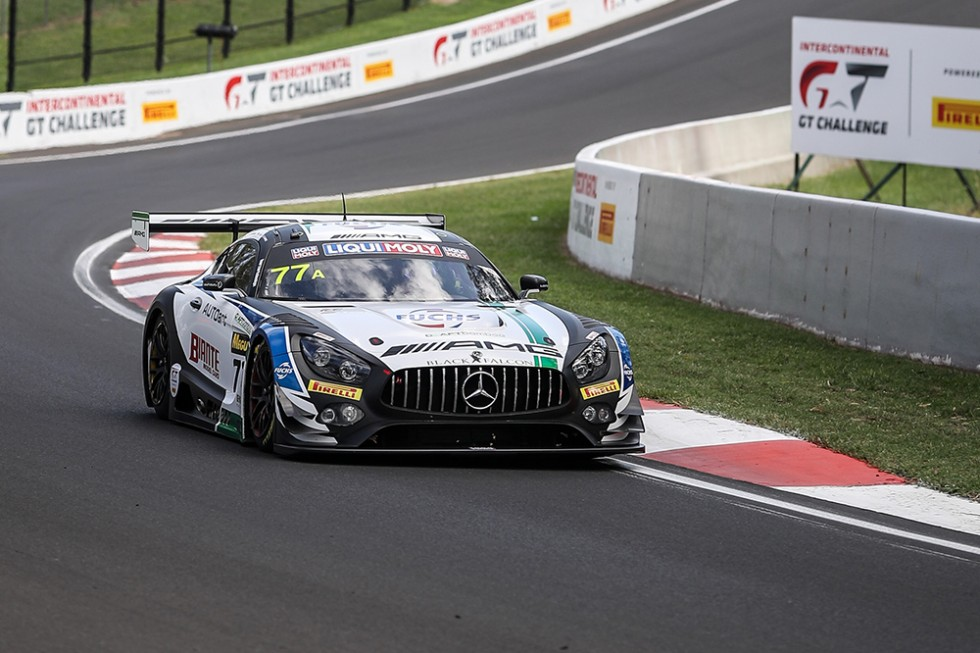 Just 0.4s separates top-10 in red hot qualifying session at Bathurst