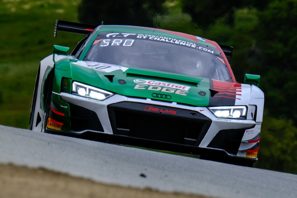 Vanthoor and Audi Sport Team WRT fastest in first #Cal8H practice