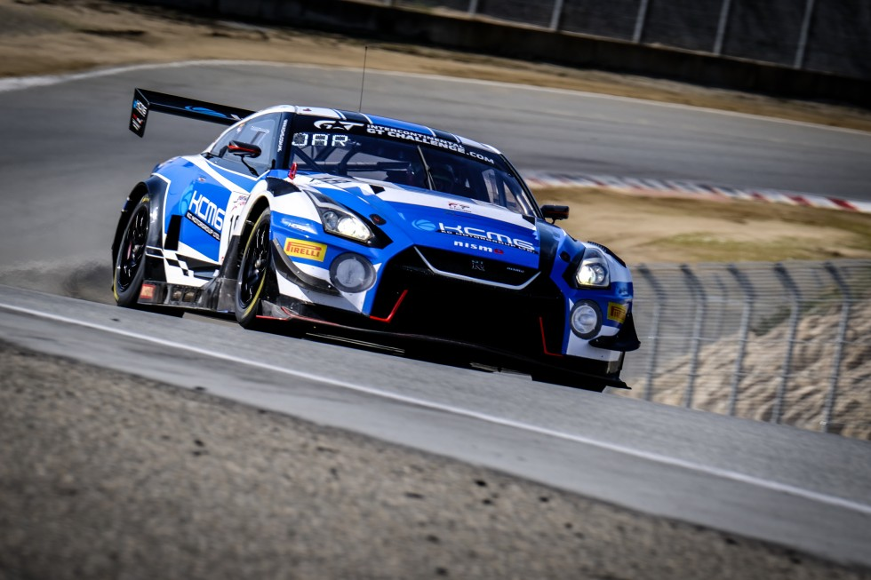 KCMG's Nissan tops incredibly tight #Cal8H qualifying session