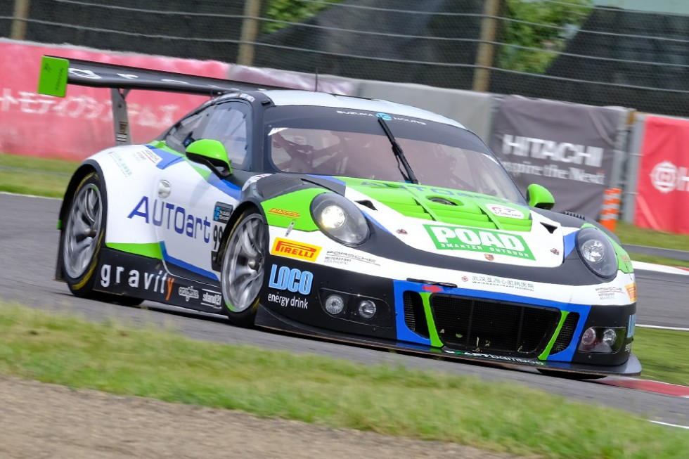 Suzuka FP1: Craft-Bamboo Porsche leads Mercedes-AMG and Audi; top-14 covered by a second