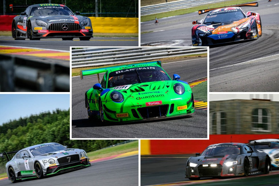 Five manufacturers chasing Intercontinental GT Challenge points in longest race of the year